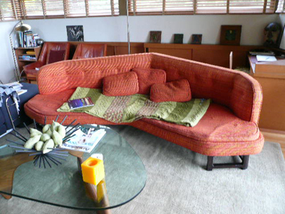 Schindler house sofa