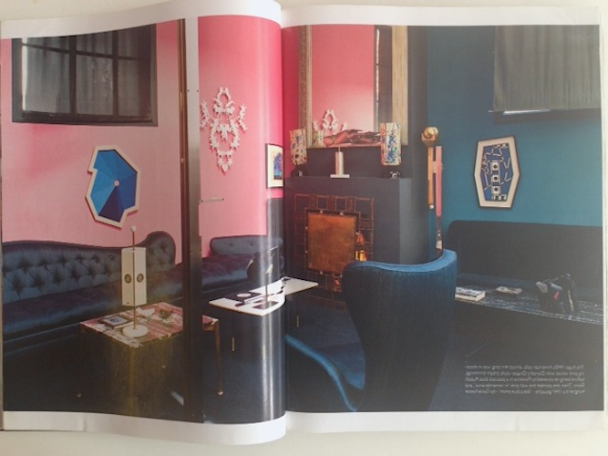 blue & pink spread woi