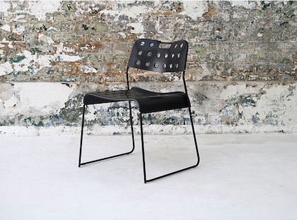 2. omk black chair