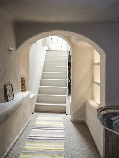 5. Rosemary Cottage - Stairs to media Room
